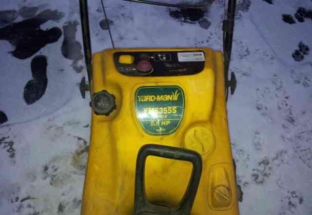Продам Снегоуборщик Yard-Man YM 5355 S б/у