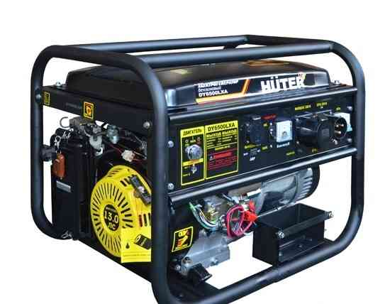 Электрогенератор huter DY6500LXA (с авр)