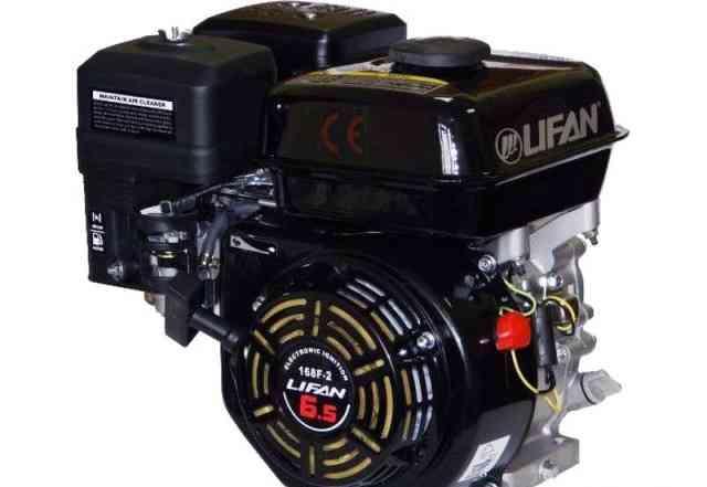 Новый двигатель Лифан 168 F-2 6.5 л. с. черный