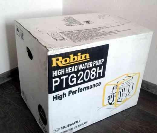 Высоконапорная мотопомпа Robin-Субару PTG208H