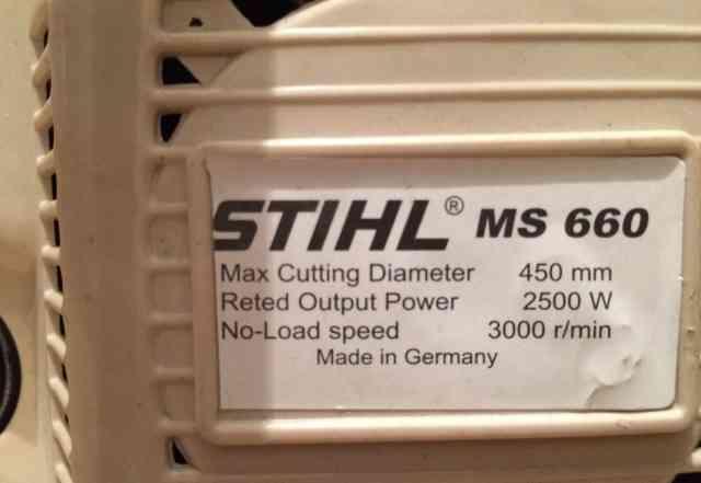 Stihl 660 - Германия, новая
