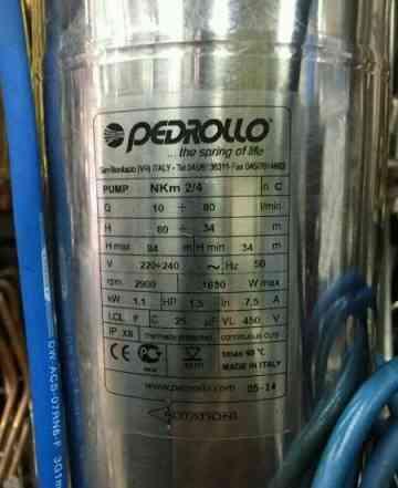 Pebrollo nkm24 1.1kvПогружной насос Pedrollo NKm 2