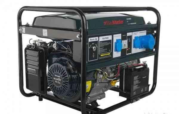 Электрогенератор новый BauMaster PG-8755EX 5.5 кВт