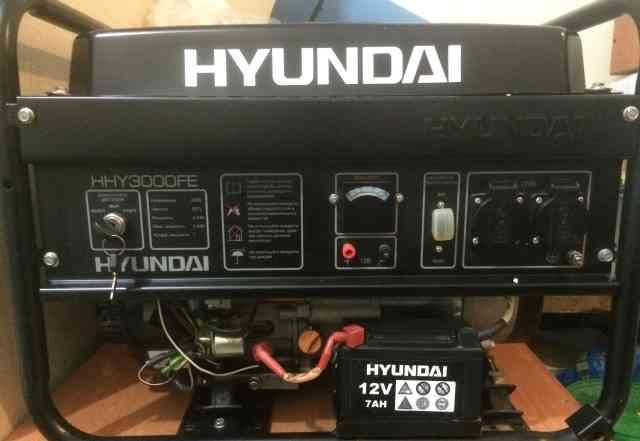 Продам генератор Хюндай HHY3000FE