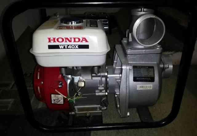 Мотопомпа бензиновая хонда WT40X