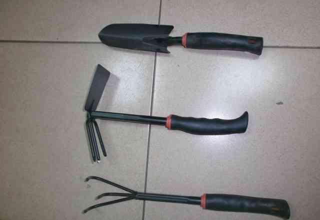 Лопатка, совок, тяпка, грабли для огорода