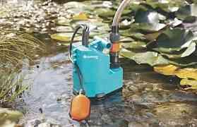Насос дренажный для грязной воды gardena