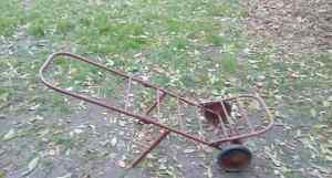 Металлическая тележка грузоподъемностью 50 кг