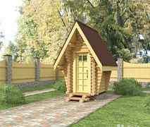 Туалетная кабинка. Строительная база умелец