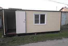 Дачный домик 6х 2.4 м
