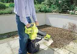 Садовый пылесос и воздуходувка арен
