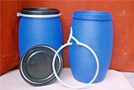 Бочки пластиковые с крышкой 120 л. Еврокуб емкость