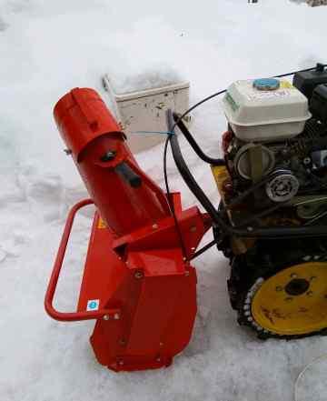 Насадка для мотоблока - снегоуборщик