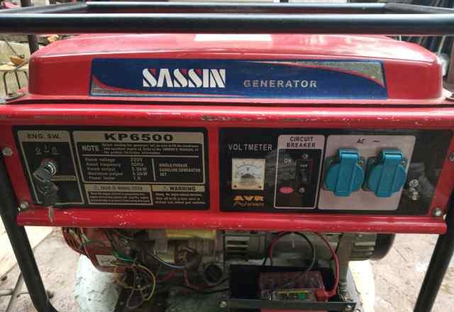Однофазный генератор 5.5 кВт