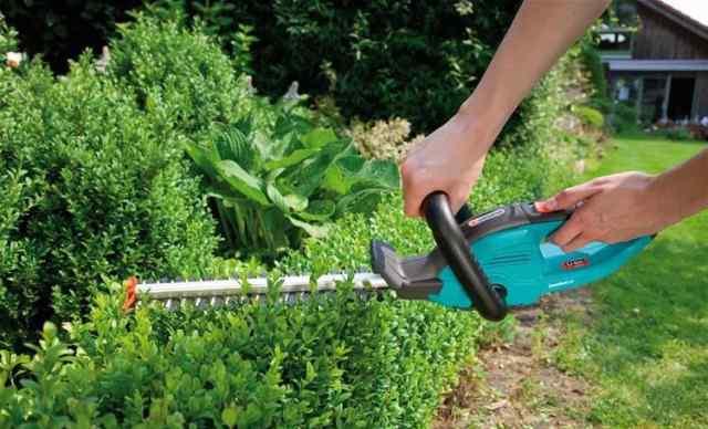 Ножницы новые аккумуляторные для живой изгороди Ga