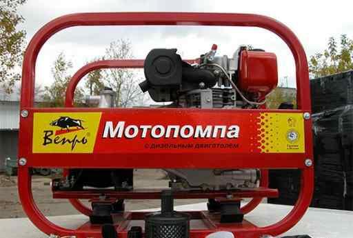 Продам дизельную мотопомпу мп-1000 дя новую