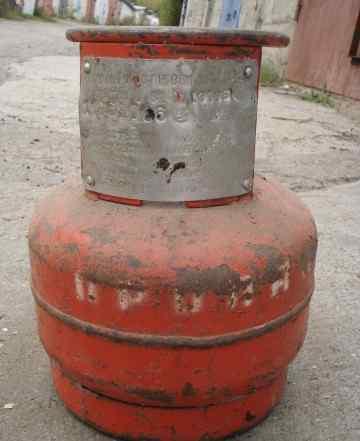 Баллоны газовые 5 литров 2 шт без крана