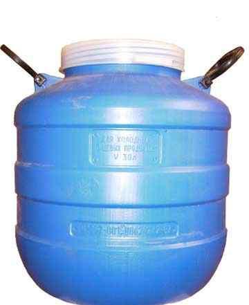 Бочка 30 литров пластиковая пищевая
