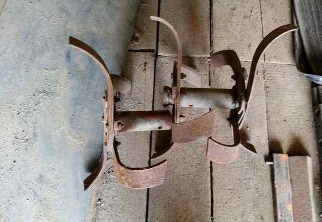 Фрезы для мотоплуга. Посадочный диаметр 30мм
