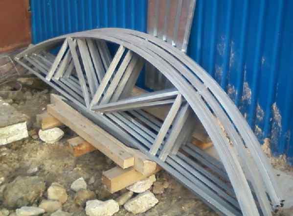 Фермы металлоконструкции металлоизделия
