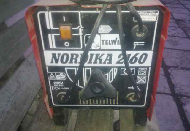 Сварочный аппарат telwin nordika 2160