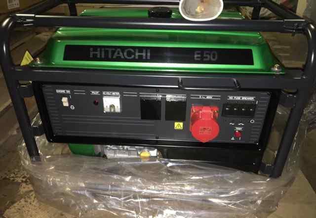 Генератор Hitachi E50 (3P). Сделано в Японии