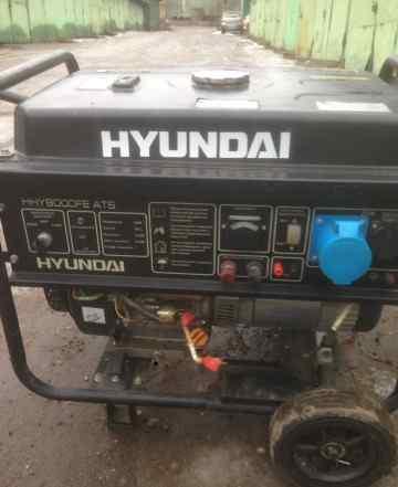 Бензиновый генератор Хундай