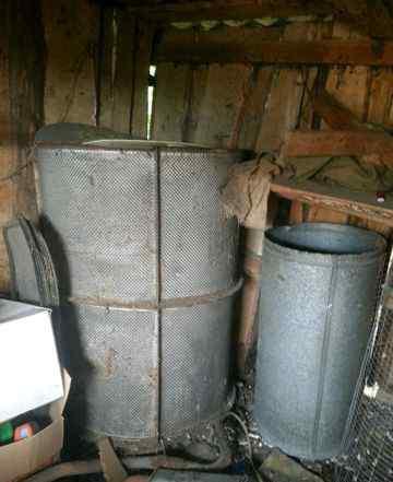 Емкость для хранения зерна(комбикорма)