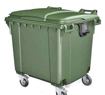 Евро контейнер мусорный объемом 1,1 м3