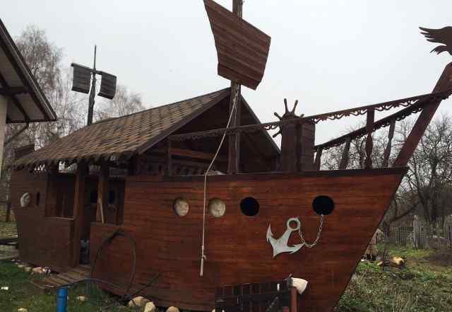 Беседка-корабль