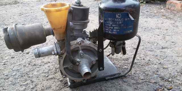 Мотопомпа водолей мн-1