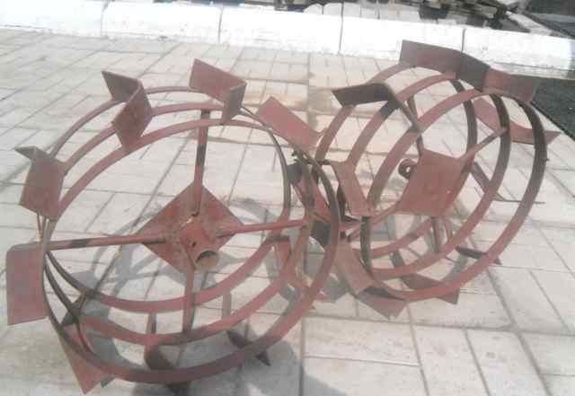 Железные колеса для мотоблока