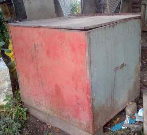 Бак для хранения зерна