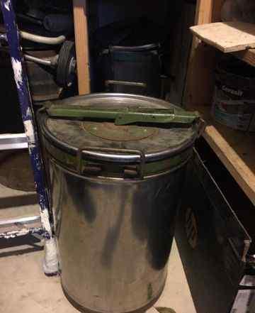 Бочка из нержавейки 30 литров