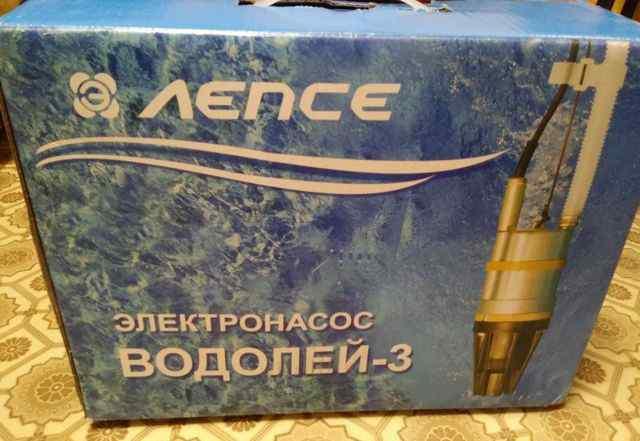 Насос для скважины Водолей-3 на 40 метров