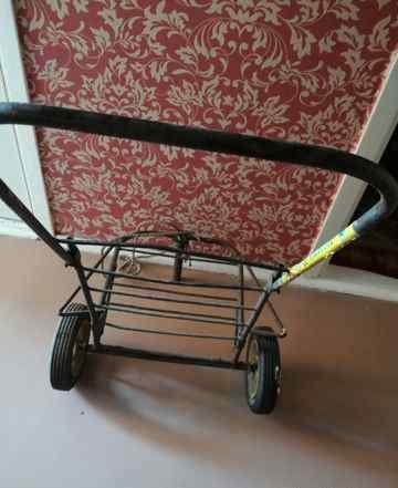 Тележка хозяйственная,на мощных колёсах