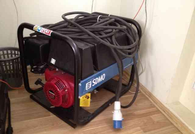 Продаётся бензиновый генератор sdmo HX 6000