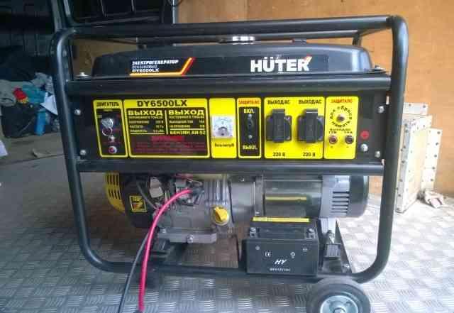 Электро генератор Huter dy6500 lx