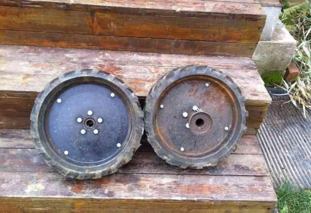 Резиновые колеса для Культиватора Крот