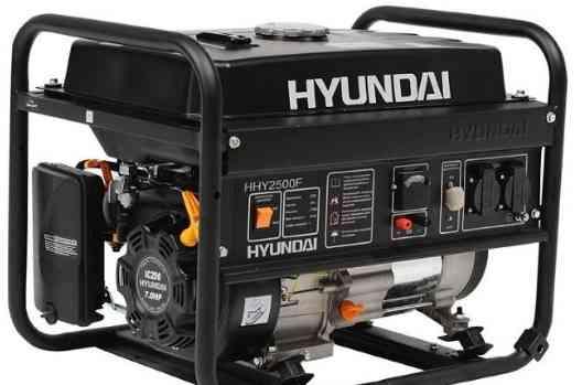 Бензогенератор Хэндай HHY3000F 2.6 кВт