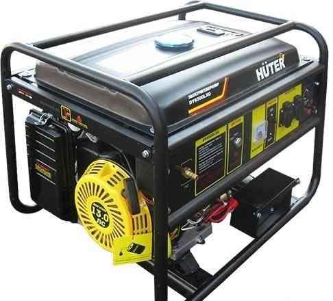 Бензиново-газовый генератор Huter DY6500LXG