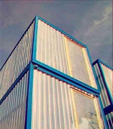 Блок контейнера под офисы