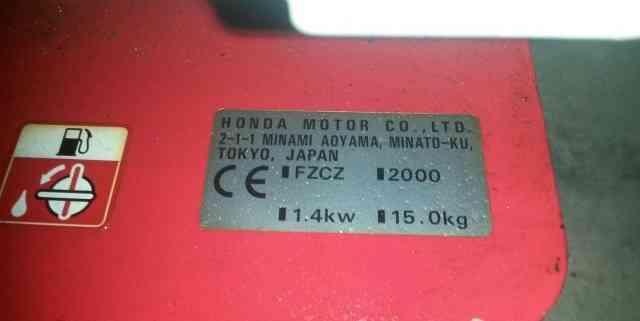 Культиватор бензиновый Хонда fg200 4stroke