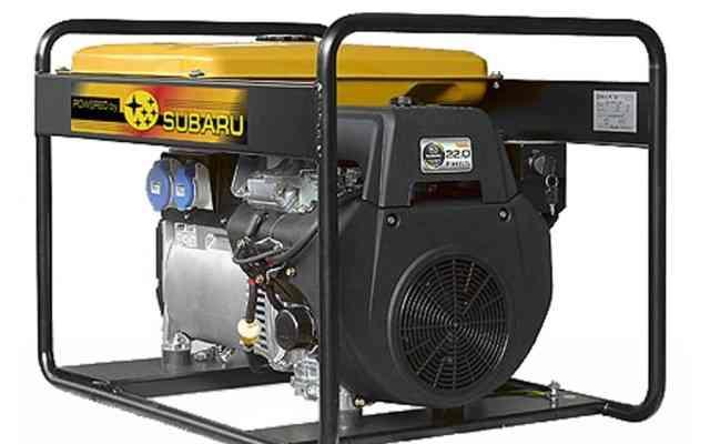 Генератор Subary Robin 12 кВт бак 26 литров