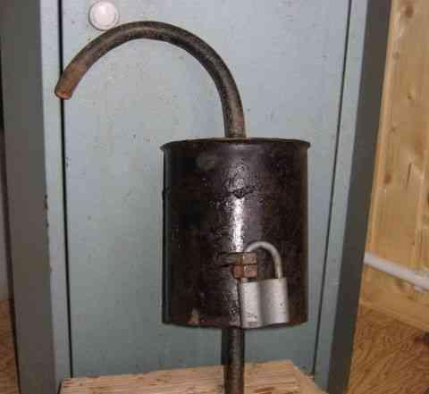 Для дачного водопровода Крышка для скважины