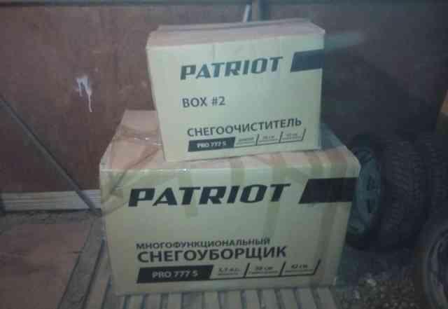 Снегоуборщик патриот PRO 777 S, 5.5л. с