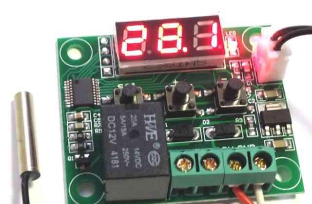 Терморегулятор цифровой тр-12V (бескорпусный)