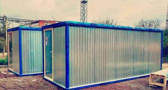 Блок контейнера для рабочих и персонала