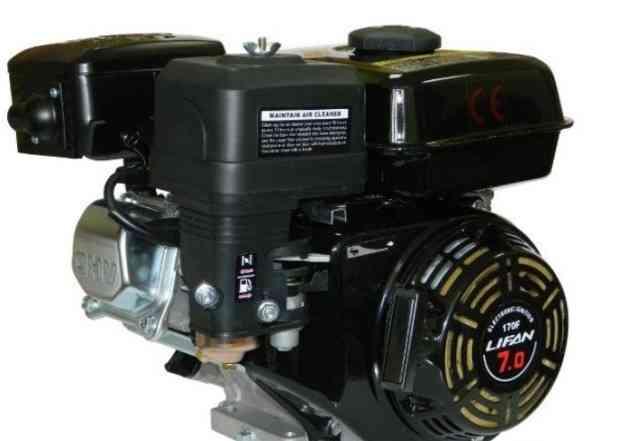Бензиновый двигатель Лифан 170F 7 лс на мотоблок