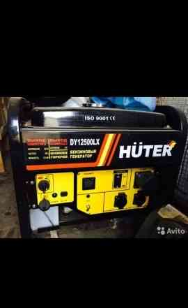 Huter DY 12500 LX - бензогенератор 8.5 кВт